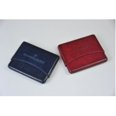 Pink/Blue Leather Cardholders