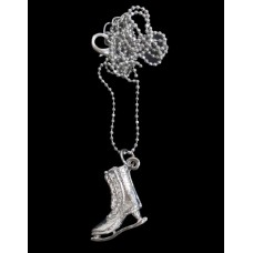 Ice Skate Necklace