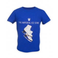 Childrens Ice Skates Blue T-shirt
